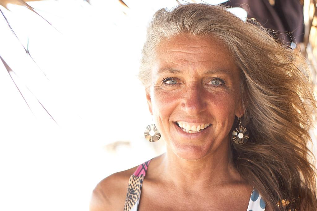 Adelheid Boll aus dem retreat in Brasilien