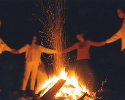 Adelheid Boll Feuer Ritual