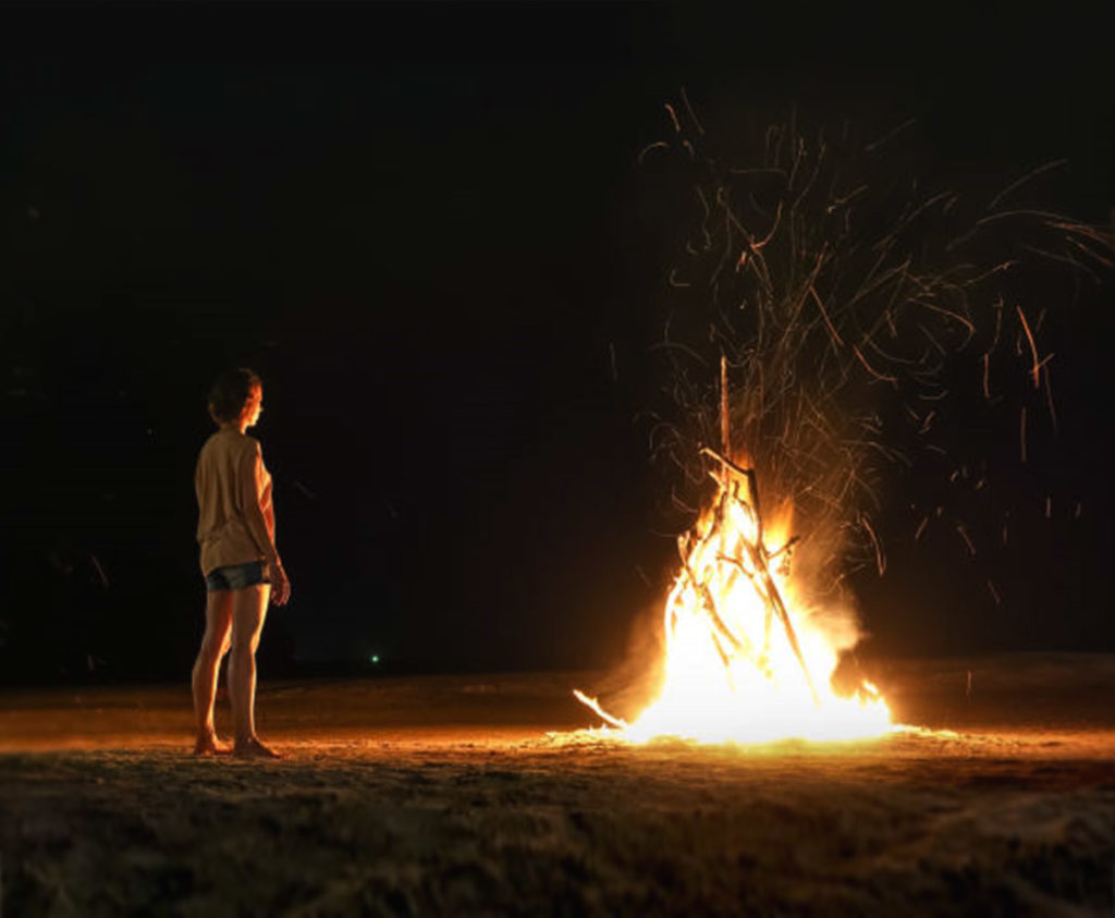 Adelheid Boll Feuermeditation