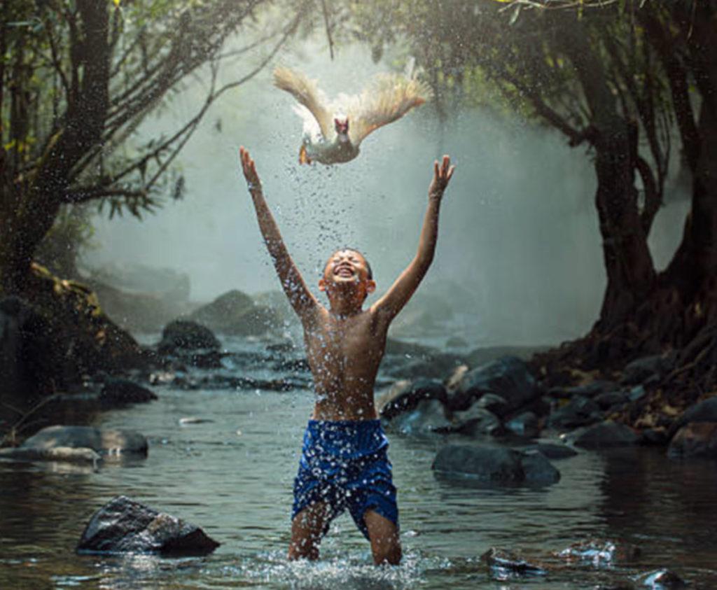 Adelheid Boll Wassermeditation