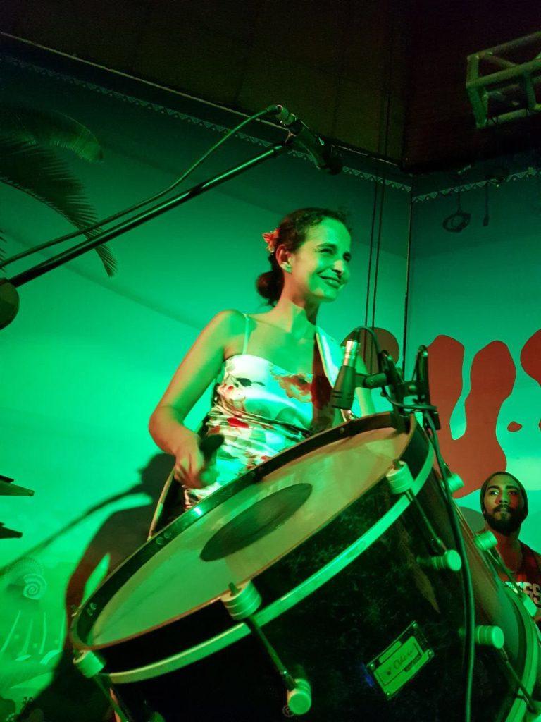 Safatma Tanz zu Live Trommeln Adelheid Boll